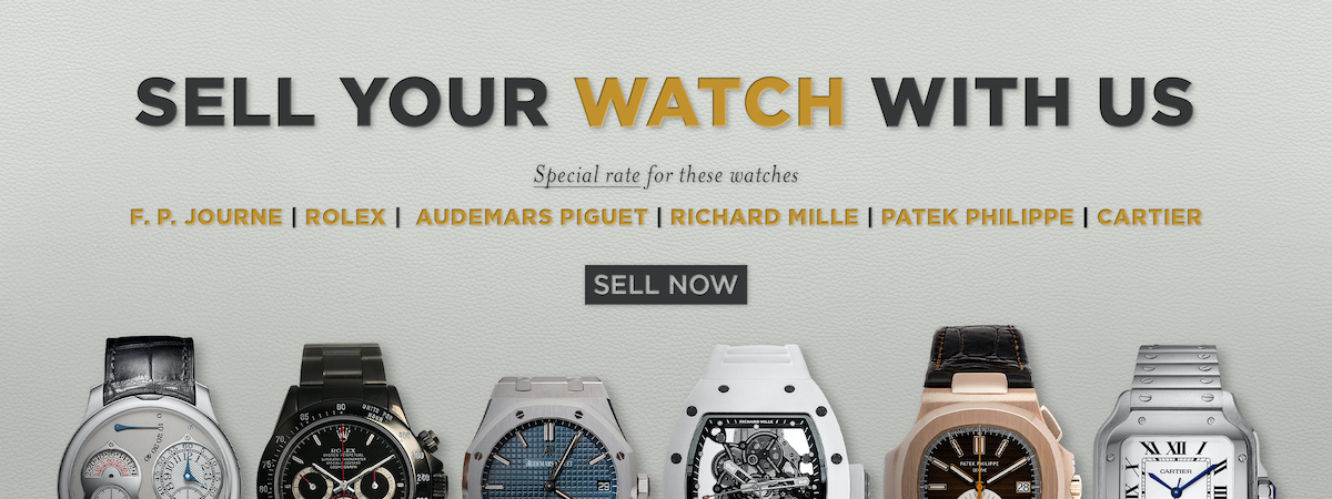 Sell Your Watch With Us