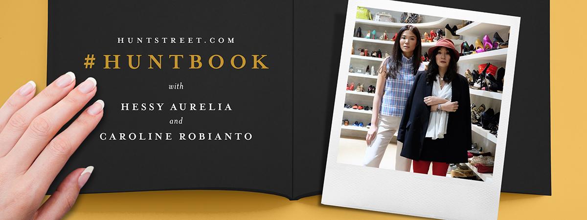 #HUNTBOOK: Hessy Aurelia and Caroline Robianto