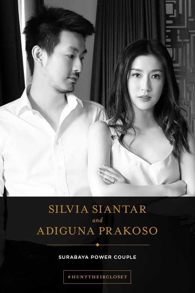 #HUNTHERCLOSET: Silvia Siantar and Adiguna Prakoso